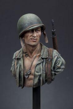 WW2 USMC 1st Division, Gudalcanal 1942 | planetFigure | Miniatures