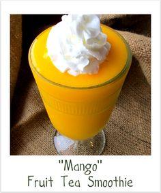 Fruit Tea Smoothie ~ Mango