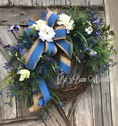 Summer Wreath Summer Floral Summer Decor Floral Wreath