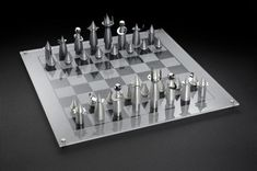 Rocket Chess Set - a chess game designed by Laura Cowan