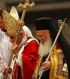 Benedictus XVI et Bartolomeu Constantinopolitanus...
