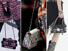 Fall/ Winter 2013-2014 Handbag Trends - Chained Bags