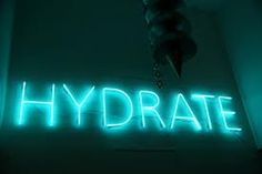 HEALTH FACT: The body's daily loss of fluids through excretion, respiration, chemical reactions, and perspiration varies from about 1 to 3 quarts per day. A high protein intake and caffeine calls for an even greater amount of fluid intake. Just another reason to drink your water....