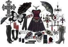 Gothic Fashion Site on Touch Of Poison  Victorian Goth Lolita Fashion