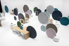 Дизайн & Декор: дизайнерский офис с Orgatec. Доски Мондр...