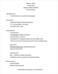 10+ Functional Resume Templates | Free Printable Word U0026 PDF