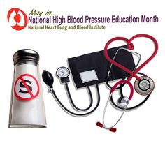 May, High Blood Pressure Education Month