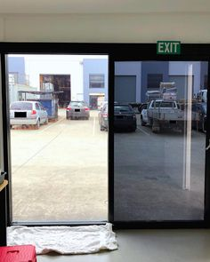 Window tint for office - 'Why tint your office windows'? Find out all the ways that you can save your business money and protect it with window tinting. Frosted Window Film, Brisbane City, Window Films, Business Money, Logan, Home Office, Commercial, Windows, Decor