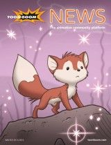 Toon Boom News Winter 2013 News Magazines, Press Release, Upcoming Events, Animation, Winter, Anime, Art, Winter Time, Art Background