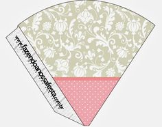 Provencal in Pink and Grey: Party Free Printables.