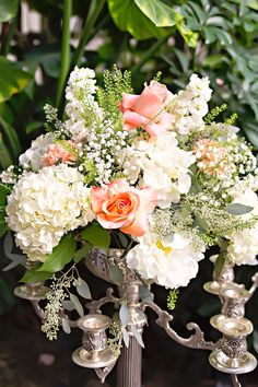 "Ninows : Preview ""Wedding Bells!!!"" White-pink-flowers. Hydrangea"