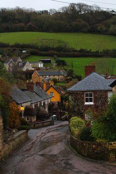 Dusk, Devon, England