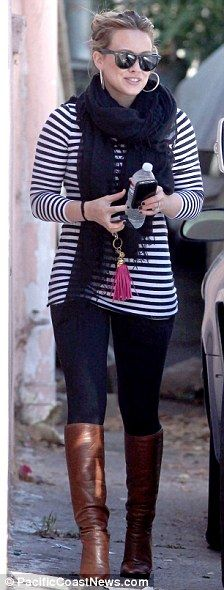 I love her maternity outfits