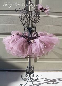 Items similar to Polka-dot Pink Chocolate child/baby tutu with hairbow: on Etsy Pink Polka Dots, Polkadot Pink, Child Baby, Baby Kids, Ballerina Room, Gold Tutu, Dress Form Mannequin, Pink Chocolate, Baby Tutu