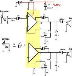 amplificador tda2004