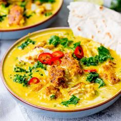No bland flavours over here! This yellow Thai fish curry is simple delicious and speedy too! With homemade Thai curry sauce. Easy Thai Recipes, Thai Curry Recipes, Spicy Recipes, Fish Recipes, Seafood Recipes, Indian Food Recipes, Asian Recipes, Dinner Recipes, Healthy Recipes