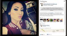 #elaina #badro #makeup #elainabadromakeup #emily #lodato #emilylodato #kissyface #mac #blacktrack #gel #eyeliner #pink #lips #instagram