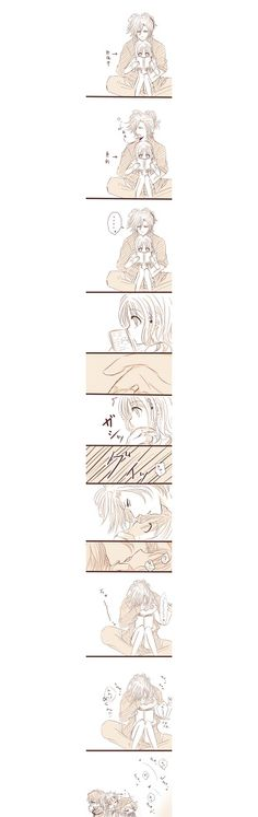 Diabolik Lovers comic (this is so cute^^)