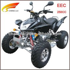EEC approved adult ATV with single cylinder 4 stroke manual clutch air filter water cooled 250CC, CS-A250-B1-EEC website: www.harryscooter.com email: sales2@harryscooter.com Skype: Sara-changshun