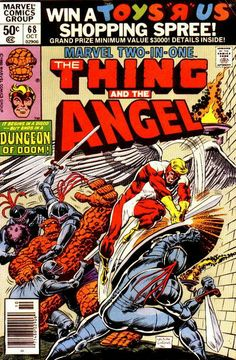 Marvel Two-in-One # 68 by Ron Wilson & Dave Simons