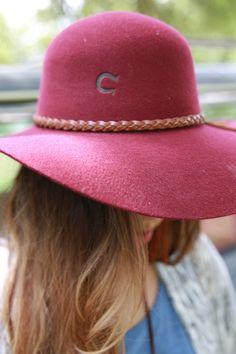 fdbc4a6522c3d free spirit hat- burgundy Charlie 1 Horse Hat