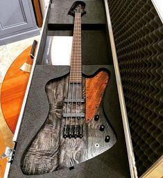 Bass Player Magazine「An Ambler Custom Guitars Icarus Bass. @amblercustomguitars #bassgram #instabass #bassporn #bassplayer #bassplayermag」