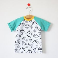 Weather Pattern Tee by Hiyakee. Designed by Amy Walters