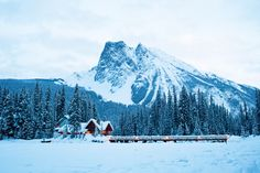 Winter Lodges: Cozy Places to Book for Snowy Getaways - Emerald Lake Lodge, Field, B. Oh The Places You'll Go, Places To Travel, Places To Visit, Travel Destinations, Vacation Places, Travel Stuff, Dream Vacations, Vacation Ideas, Menorca