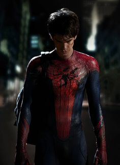 The Amazing Spider-Man with Andrew Garfield & Emma Stone. Wonderful film !