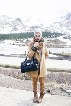 hijab style & fashion, turban  Indah Nada Puspita