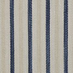 Calvados Ticking – Indigo - La Plage - Riviera - Fabric - Products - Ralph Lauren Home - RalphLaurenHome.com