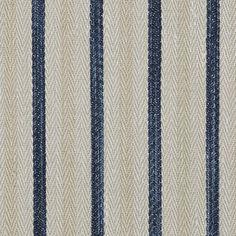 Calvados Ticking – Indigo - La Plage - Riviera - Fabric - Products - Ralph Lauren Home - RalphLaurenHome.com