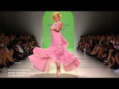 BETSEY JOHNSON MERCEDES-BENZ FASHION WEEK S/S15 COLLECTIONS  #Betseyjohnson #fashionweek #mbfw #Mostmag #fashion http://youtu.be/F9fORb30PIU