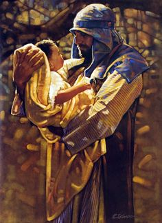 Totus Tuus Family & Catholic Homeschool: He Held Jesus in His Arms ~ St. Joseph - Prayer to St. Joseph