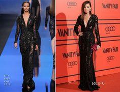 Nieves Alvarez In Elie Saab – Vanity Fair's 5th Anniversary Party