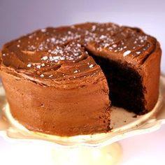 Blackout Cake by Michael Symon! #TheChew #Dessert #Chocolate