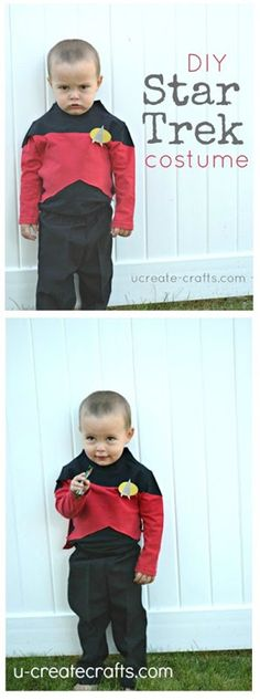 Diy Star Trek Costume Tutorial for your little ring bearer. --> forget ringbearer i'm going to do this for my self!