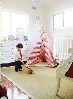 white toddler room