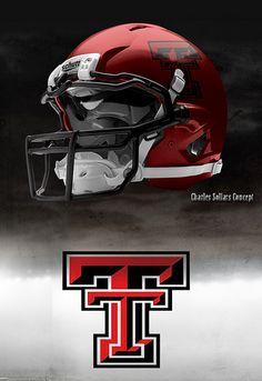 Texas Tech helmet...we need these!
