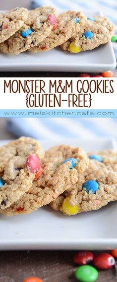 Monster Mm Cookies Soft Chewy And Loaded With Oatmeal Peanut