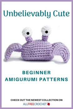 This page is full of free amigurumi crochet patterns perfect for beginners. You are going to love these easy amigurumi patterns of all varieties. Crochet Amigurumi Free Patterns, All Free Crochet, Easy Crochet Patterns, Cute Crochet, Crochet Ideas, Crochet Tutorials, Beautiful Crochet, Crochet Teddy, Kids Crochet