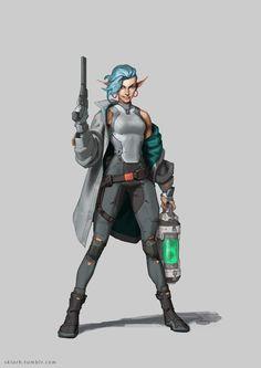 Mercenary v.2 by Skiorh.deviantart.com on @DeviantArt
