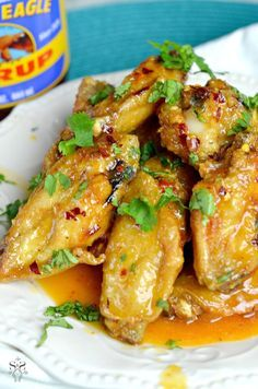 Spicy Buttery Chicken Wings : Jays Sweet N Sour Life