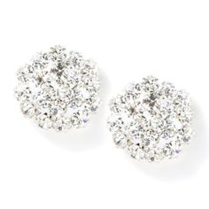 Crystal Flowerburst Stud Earrings (or something similar - no dangle earrings please haha)
