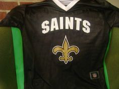 New Orleans Saints Youth Jersey Lge NFL Flag Football Reversible 2 Sided  Jersey 00182a557