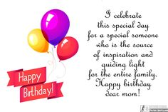 Birthday Quotes For Mom Happy Wishes Messages