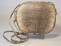 Lizard Skin Handbag - Designer Handbag - Genuine Lizard Skin