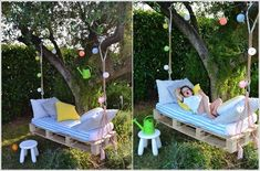 Swing Bed for a Hanging Joy