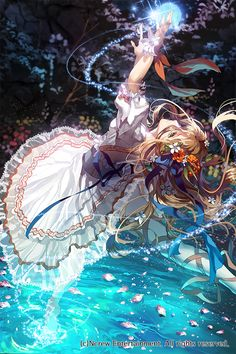 Anime girl illustration art  Pixiv Giselle Beautiful