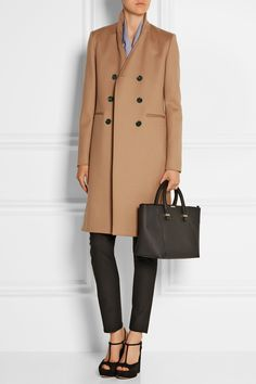 Victoria Beckham | Double-breasted wool coat | NET-A-PORTER.COM